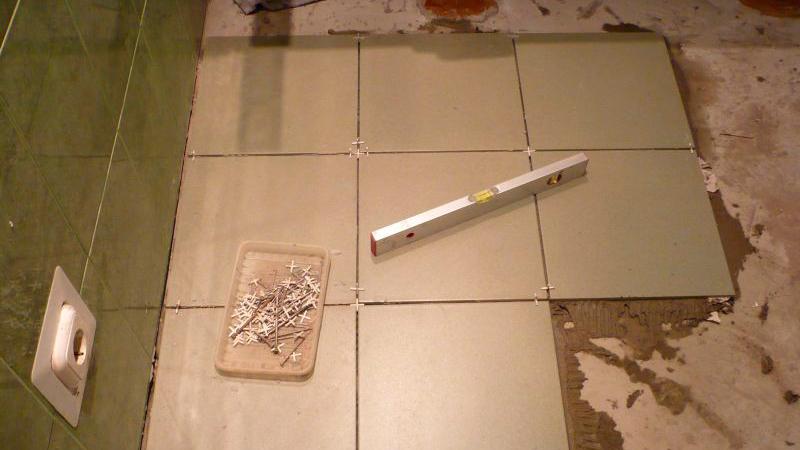 Толщина плитки с клеем