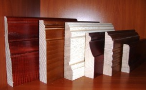 Плинтус деревянный - разновидности