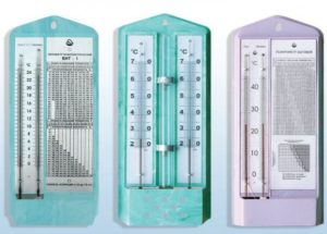 Влажность измеряют специальными приборами - гигрометрами