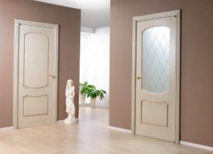 Цвет можно подбирать для дверей и напольного покрытия почти одинаковый
