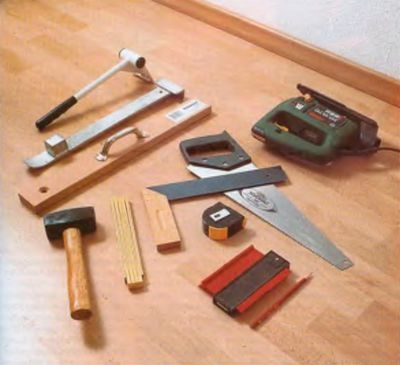 Инструменты укладка ламината своими руками