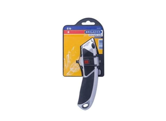 Нож 18 мм, 2-х компонентная ручка, 4 лезвия
