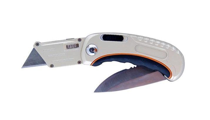 Нож многофукциональный универсальный 2 лезвия