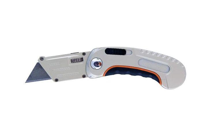 Нож трапеция с фиксированным лезв Brigadier