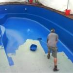Вариант нанесения резиновой краски