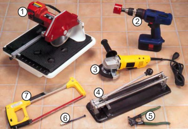 Разновидности инструмента для резки керамики
