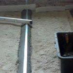 процесс установки маяков