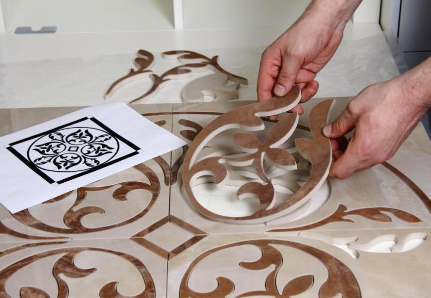 Что можно сделать на керамической плитке своими  598