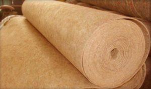 Льняная подложка - наилучший вариант среди натуральных материалов