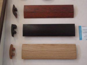 Порожки могут быть разной формы в зависимости от покрытия