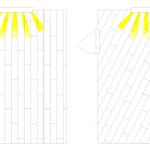 Симметричная укладка ламината шема