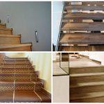 Лестницы с применением ламината