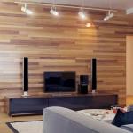 Стильная комната с применением ламината