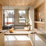 Квартира с использованием настенного ламината