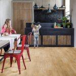 Кухня в виниловом ламинате