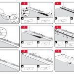 Схема монтажа ламината